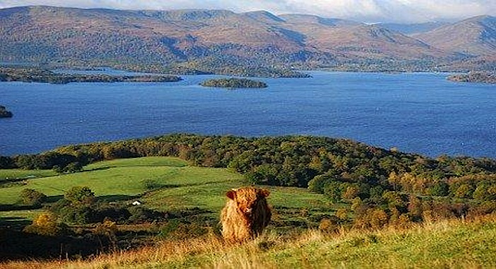 hill walking conic hill loch lomond image