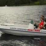Loch Lomond Boat Hire Image