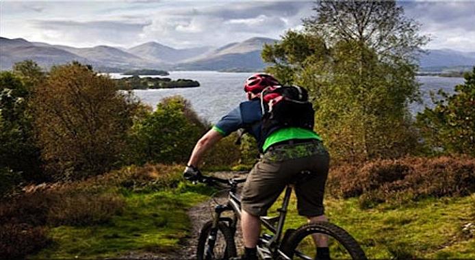Bike Hire Cycling Loch Lomond Image